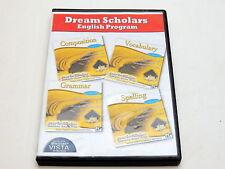 DREAM SCHOLARS English Program Grades 9-12 Composition Vocab Grammar Spelling