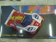 Fujimi 1/24 McLaren F1 GTR Long Tail Le Mans 1998 #40 Model Car Kit