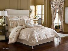 J. Queen New York Bellagio Pearl King 4 Pc Comforter Set