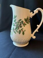 "Lenox Holiday 8"" Tall Pitcher"