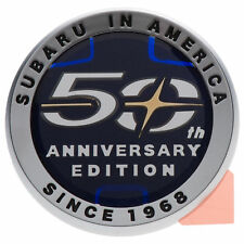 OEM 2018 Subaru in America 50th Anniversary Edition Emblem Badge NEW 93063FL020