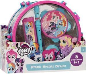My Little Pony Pack Away Drum Set