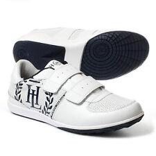 NUOVO HENRI LLOYD Spinnaker Cinturino Men's Sneakers Bianco UK 7.5