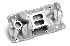 Weiand SBC Aluminum Intake Speed Warrior 1955-1986 350 383 Open Intake Plenum