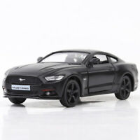 1:36 Ford Mustang 2015 Model Car Toy Vehicle Diecast Black Gift Kids Collection