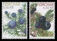 Faroe Islands 2011 Fruit, Berries, Juniper & Cowberry, Mnh / Unm