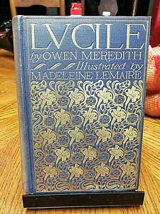 LUCILE Owen Meredith MADELEINE LEMAIRE Stokes 1897 12 color facsimiles