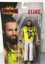 ELIAS  WWE Mattel Wrestlemania 35 Basic Wrestling Action Figure Toy NEW