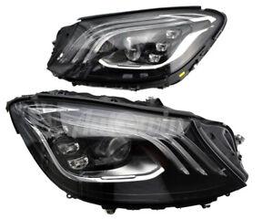 MERCEDES BENZ S CLASS W222 FACELIFT FULL LED HEADLIGHT RIGHT & LEFT SIDE OEM NEW