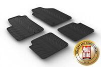 Design Passform Gummimatten Gummi Fußmatten für Fiat 500/Abarth 500/500 C