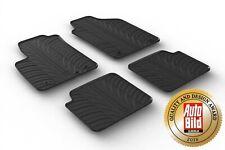Design Passform Gummimatten Gummi Fußmatten für Fiat 500, Abarth, 500 S, 500 C