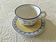 Williams Sonoma Tournesol Cup And Saucer