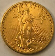 RARE 1911-D  $20 GOLD SAINT GAUDEN DOUBLE EAGLE COIN