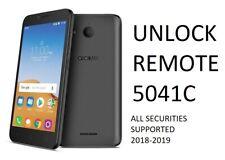 Alcatel Remote Unlock Direct no code Tetra 5041C
