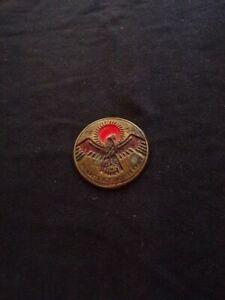 WW2 German 1934 WHW Badge Aufwarts Auseigener Kraft VERY RARE!!
