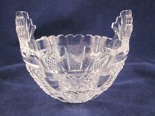 """WATERFORD CRYSTAL Butter Cooler 5"""" Candy Bowl #323-779-55 GOTHIC Mark ~EXCELLENT"""