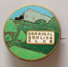 Corrimal Bowling Club Badge Rare Vintage (M9)