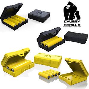 Chubby Gorilla Akkubox Aufbewahrungsbox Akkuhülle Dual oder Quad 18650