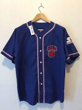 Vintage 1980s New York Knicks Starter NBA Baseball Crossover Jersey. Rare!