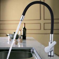 Chrome Kitchen Faucet Swivel Spout Single Handle Sink Pull Down Spray Mixer Tap!