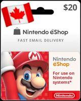 Nintendo eShop CAD 20