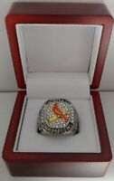 2011 St Louis Cardinals World Series Custom Ring With Wooden Box