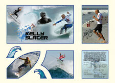 New Kelly Slater Signed Limited Edition Memorabilia Framed