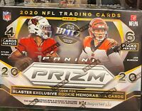 New 2020 Panini Prizm Football Blaster Box NFL Tua Herbert Burrow Hurts?