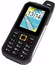 Rugged Cell Phone Unlocked GSM Water Shock Proof IP68 Certified Military E500ORG