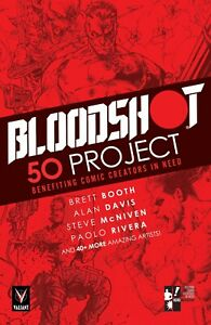 THE BLOODSHOT 50 PROJECT (hardcover)