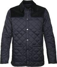 New Barbour Men's Gillock Quilted Jacket Black Size Small $239