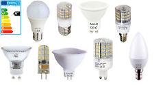 LED SMD Bombilla gu10 mr16 gu5.3 g4 g9 e27 e14 hasta 10 vatios retrofit halogen