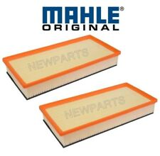 For Audi Porsche VW Pair Set of 2 Air Filters Heavy Duty Type OEM Mahle NEW