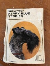 Kerry Blue Terrier Book Know Your Kerry Blue Terrier (Vintage)