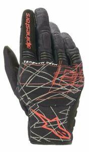 Alpinestars MM93 LOSAIL V2 Black Lightweight Motorcycle/Motorbike Copper Glove