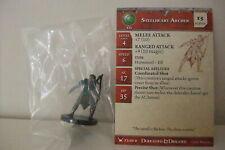 Dungeons & Dragons Miniatures STEELHEART ARCHER + CARD -War Drums (Cod. D&D 27)