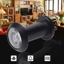 Security Door Eye Spy Hole Angle Peephole Viewer 200° Adjustable Glass Lens