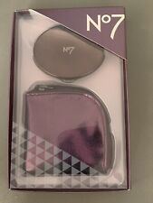 No7 Compact Mirror & Case New