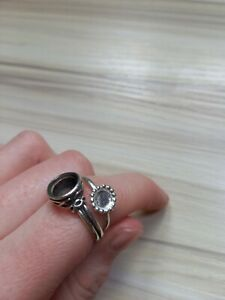 Two stoneless 925 Silver Rings