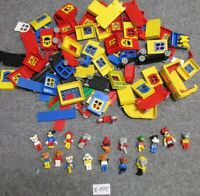 LEGO® - 1,0 kg - Auction - Type-Mix - E-175 - Fabuland-Teile inkl. 17 Figuren -