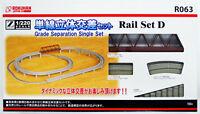 Rokuhan R063 Rail Set D Grade Separation Single Set (1/220 Z Scale)
