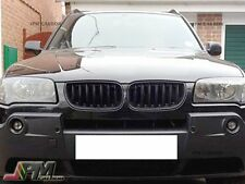Sporty Style Look Gloss Black Front Kidney Grille For 2004-2006 BMW E83 X3 SUV