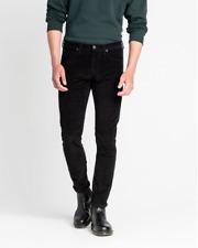 Lee® LUKE Slim Tapered Corduroy Stretch Jeans/Black - 30/30 New AW19