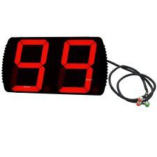 4'' 2Digits Laps To Go Timer LED Digital Counter With Three Buttons