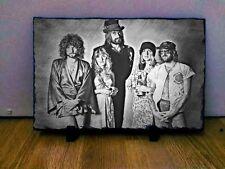 """Fleetwood MAC Disegno Arte Ritratto in Ardesia 8x6"""" Rara Da Collezione Memorabilia"""