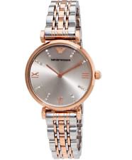 EMPORIO ARMANI Classic Grey Dial Ladies Watch AR1840