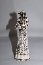 SKELETON day on the death RESINA resin skull figure statue Mrs and Son Mexico
