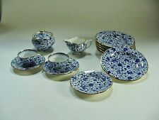 13 pc. Child's Tea Set  - Copeland Spode Blue on White Pattern #R3863 -- RARE!