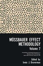 Mossbauer Effect Methodology, Vol. 7: Proceedings of the Seventh Symposium on Mo