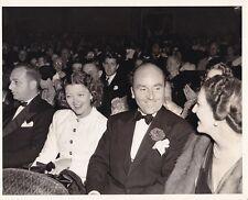 MYRNA LOY & Husband Original CANDID Movie Premiere Vintage 1939 RHODES Photo